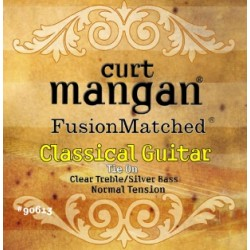Curt Mangan Normal Tension Classical (CLEAR/SILVER)