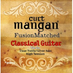 CURT MANGAN HIGH TENSION CLASSICAL (CLEAR/SILVER)