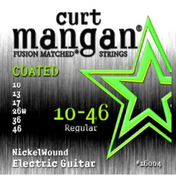 CURT MANGAN 10-46 NICKEL WOUND COATED