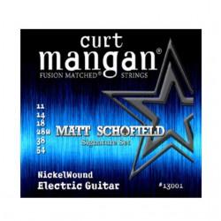 CURT MANGAN MATT SCHOFIELD SIG (11-14-18-28-38-54)