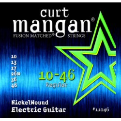 Curt Mangan 10-46 Nickel Wound Set