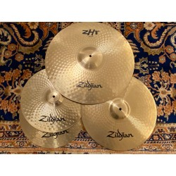 "Zildjian ZHT PACK HI HAT ZHT 14"" CRASH ZHT 16"" RIDE ZHT 20"""