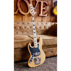 Vintage Guitars LVJ74 Jazz Bass Natural