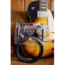 Mogami Gold Instrument Cable R 10ft Angulado/Recto