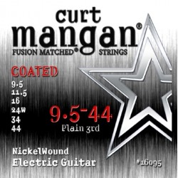 Curt Mangan 9.5-44 Nickel Wound COATED