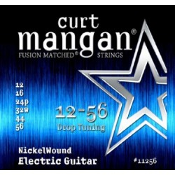 Curt Mangan 12-56 Nickel Wound (Drop Tuning)