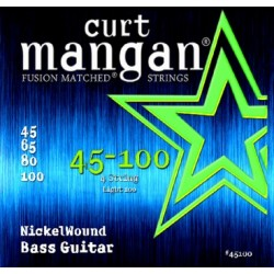 Curt Mangan 45-100 Nickel Wound Light 100