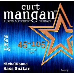 Curt Mangan 45-105 Nickel Wound Bass Light
