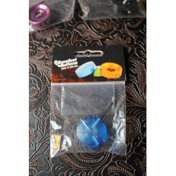 Barefoot Buttons 18 V1 ST BA COLORED ACRYLIC 2021 Blue